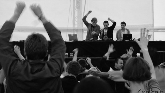 Gvidas B, Pakas and Billy Cristal @ Satta Festival, Sventoji