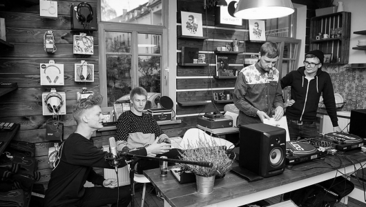 ba-pasikeist-ep-launch-at-vinylshop-1