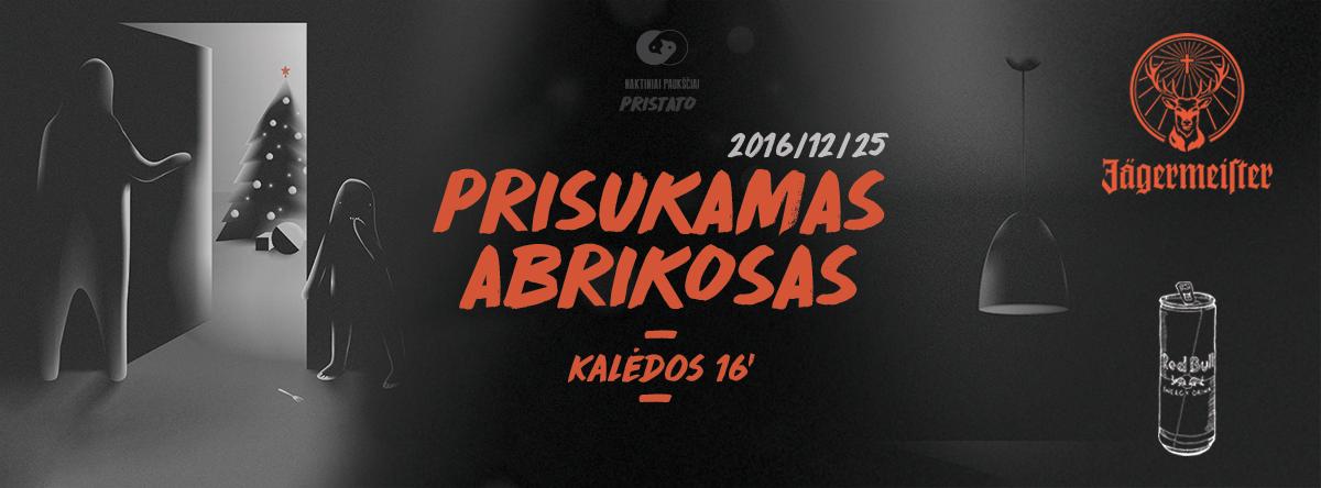 Prisukamas Abrikosas 2016 artwork