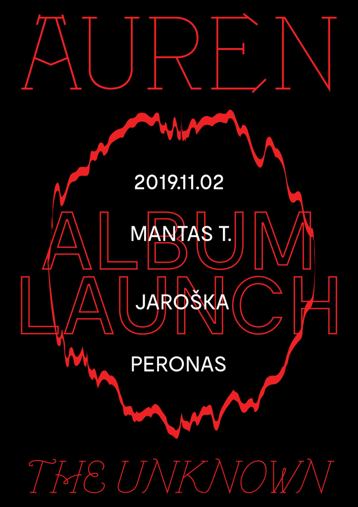 AUREN_unknown EP_launch poster_A3