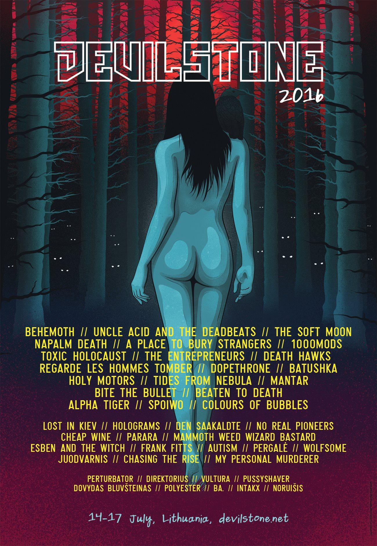 Devilstone Festival 2016 Poster