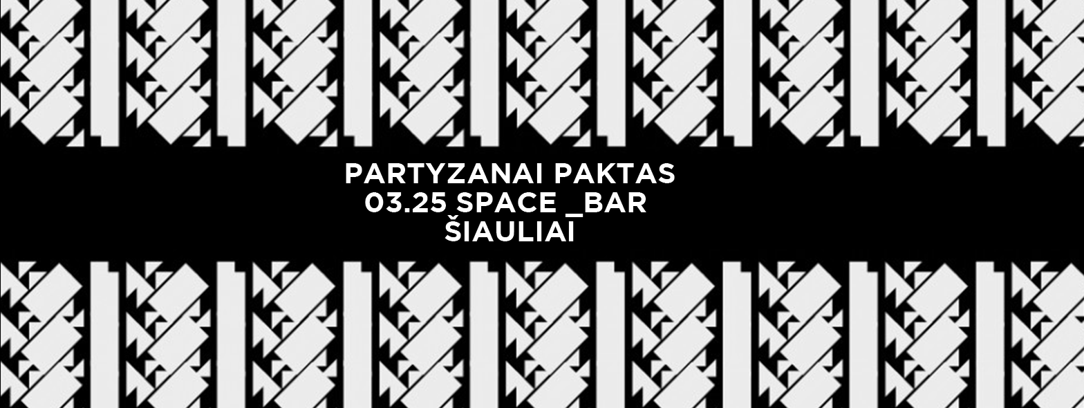 partyzanai paktas space bar