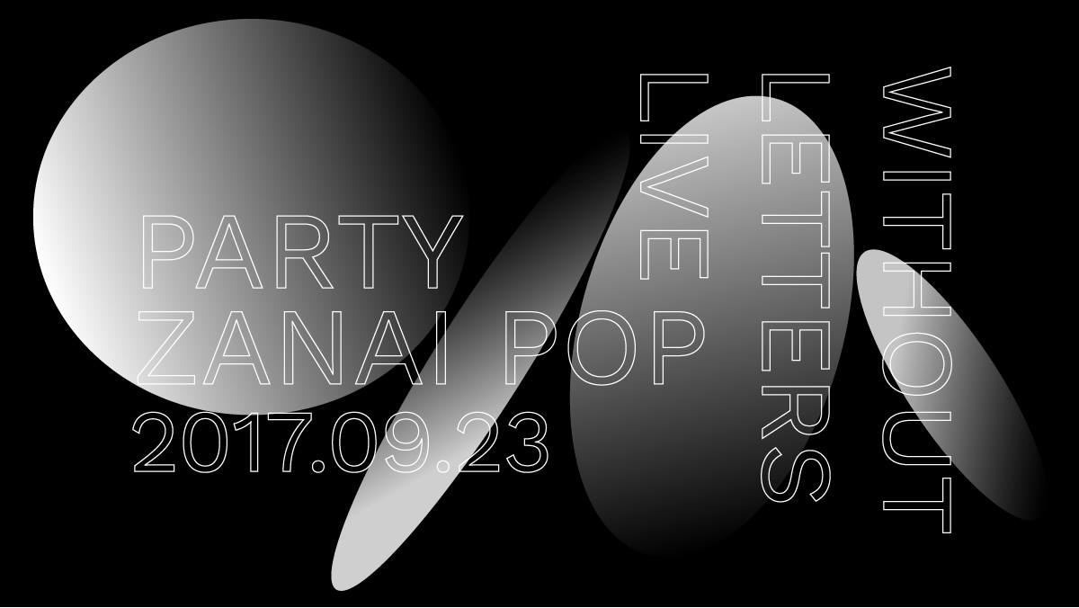 Partyzanai Pop with Without Letters Live Artwork
