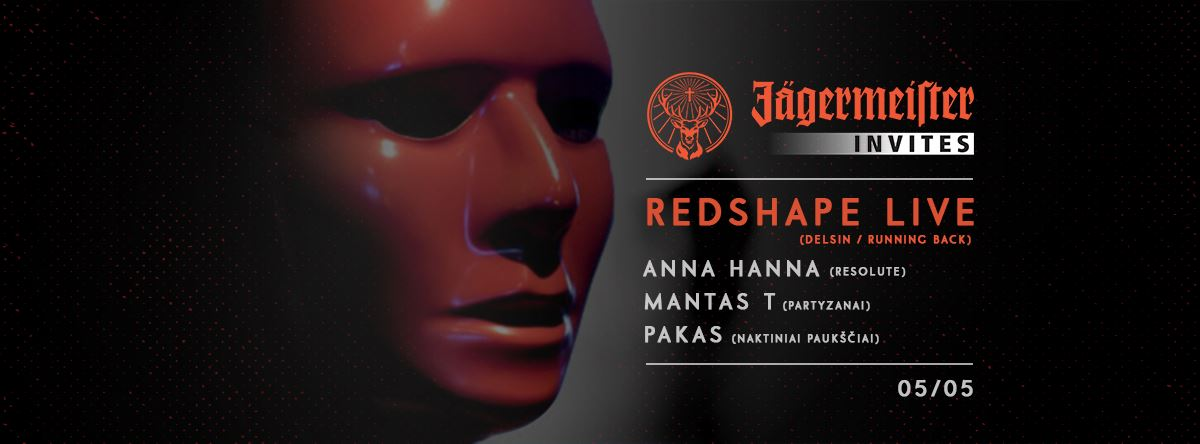 Redshape Live at Jäger Invites Event in club Lizdas artwork