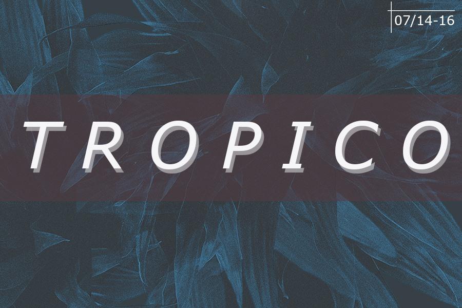 Tropico Micro Festival Artwork
